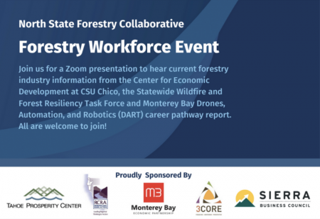 Tahoe Prosperity Center, Forestry Workforce Event: North State Forestry Collaborative