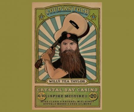 Crystal Bay Club, Devildog Productions Presents: Loud As Folk LIVE at the Crystal Bay Club