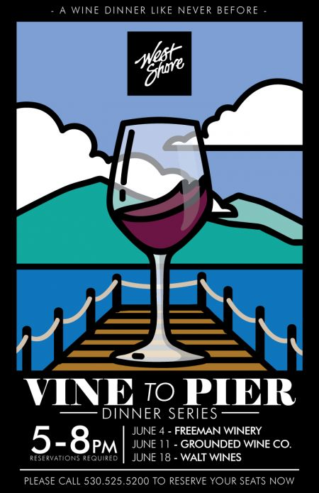 West Shore Cafe & Inn, Vine to Pier Wine Dinners