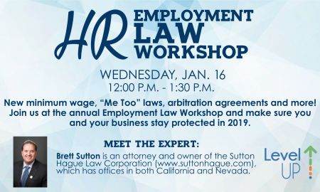 Tahoe Chamber, Employment Law Update Workshop