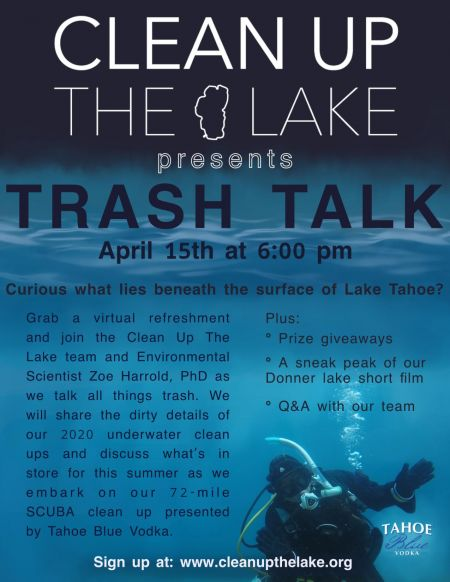 Clean Up The Lake, Trash Talk with Clean Up The Lake