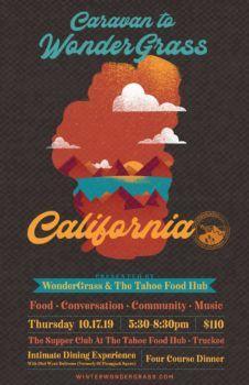 Tahoe Food Hub, Supper Club | Caravan to Wondergrass