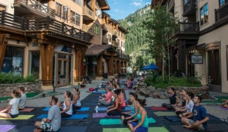 The Village at Squaw Valley, Yoga Squaw'd