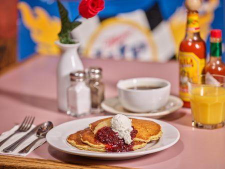 Rosie's Cafe Tahoe City, Swedish Oatmeal Pancakes (3)