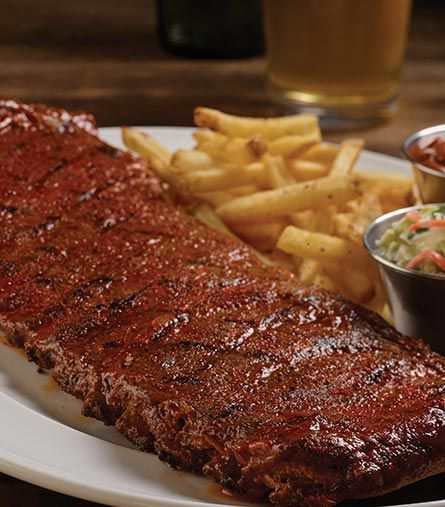 Hard Rock Cafe, Hickory-Smoked Ribs