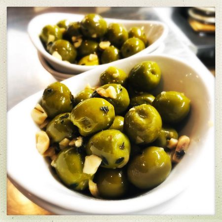 Whitecaps Pizza & Tap House, Warm Castelvetrano Olives  (gf)