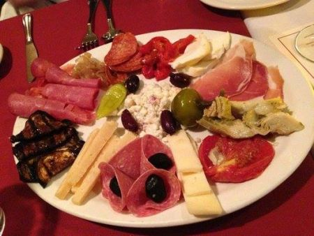 Primo's Italian Bistro, Traditional Antipasto for Two