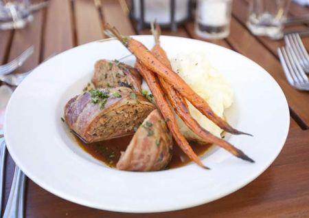 The Lodge Restaurant & Pub, Turkey & Shitake Meatloaf