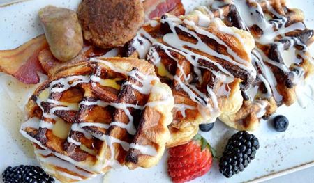 Crisp Belgium Waffle Bistro At Edgewood Lake Tahoe Restaurants