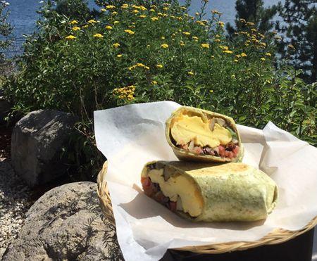 Syd's Cafe Lake Tahoe, Breakfast Burrito