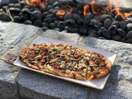 Veggie Flat Bread Bistro At Edgewood Lake Tahoe Restaurants