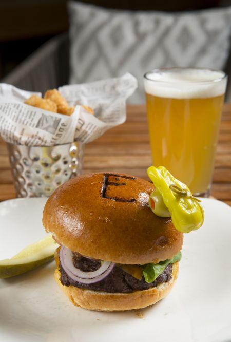 Brook's Bar & Deck, Half Pound Sirloin Burger