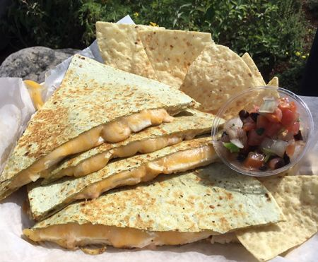 Syd's Cafe, Chicken Quesadilla