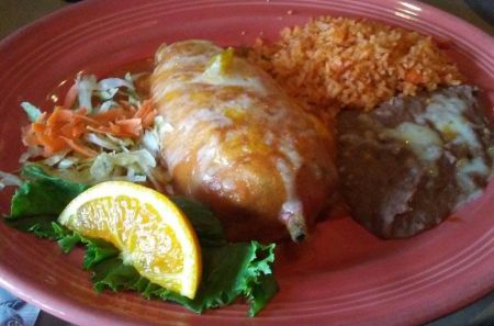 The Blue Agave, Chile Relleno