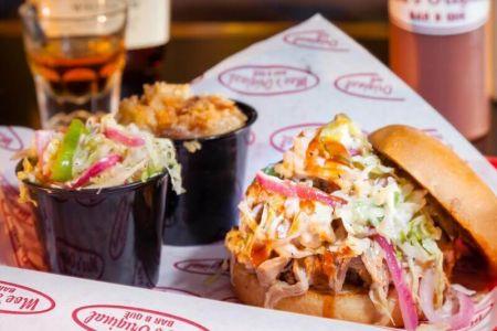 Moe's Original Bar B Que, Cuban Sandwich Wednesday Special