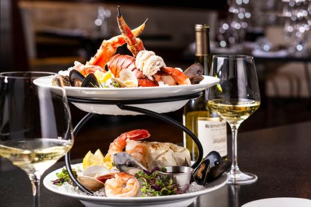 Park Prime Steakhouse, Seafood Tower for Two