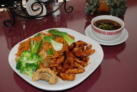 Clay Oven Restaurant, General's Chicken