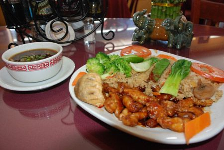 Clay Oven Restaurant, Mongolian Chicken
