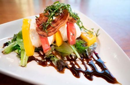 The Grille at The Chateau, Stacked Caprese Salad