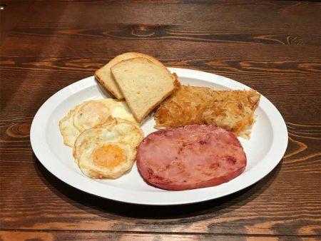 Heaven's Little Café South Lake Tahoe, Boneless Ham Steak Plate