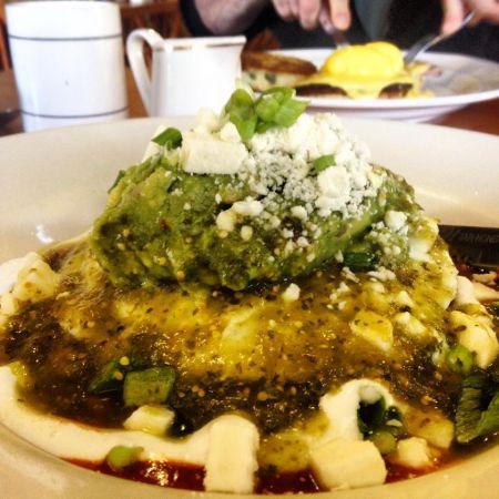 Marty's Cafe, Huevos Rancheros