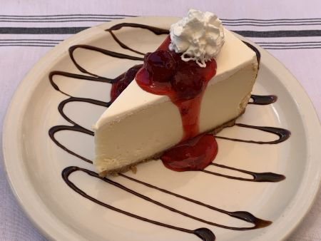 Jason's Beachside Grille, New York Cheesecake
