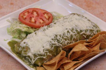 La Mexicana Meat Market & Taqueria, Wet Burrito
