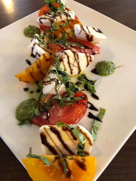 Whitecaps Pizza & Tap House, Seasonal Caprese Salad