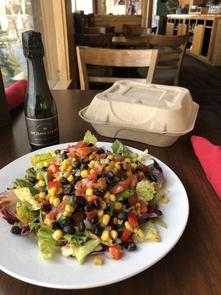 Hacienda del Lago Tahoe Mexican Restaurant, Summer Salad