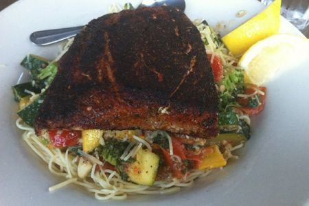 Jason's Beachside Grille, Salmon Filet