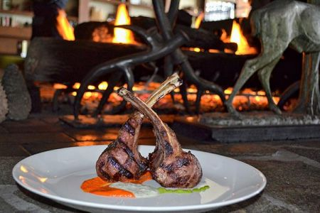 Lone Eagle Grille, Niman Ranch All Natural Lamb Chops