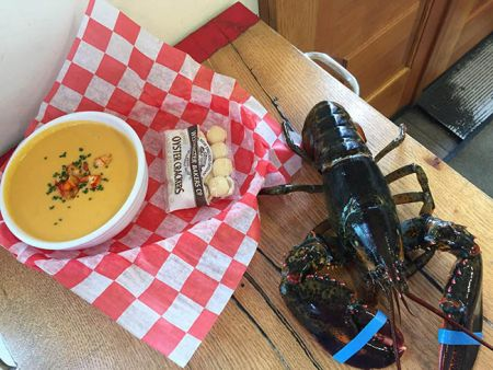 Morgan's Lobster Shack, Lobster Bisque