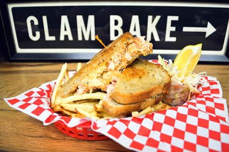 Morgan's Lobster Shack, Lobster Reuben