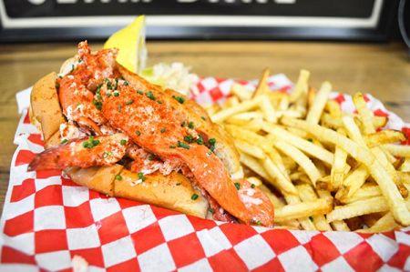 Morgan's Lobster Shack, Classic Lobster Roll