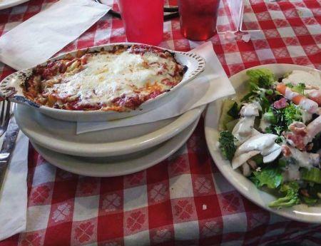 Mofo's Pizza, Homemade Lasagna