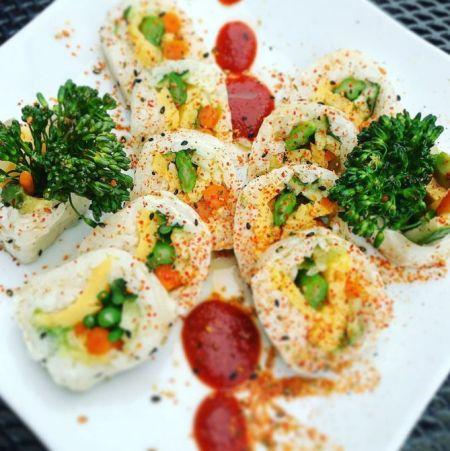 Yamakai Fish & Sushi Co., White Rabbit (VEG)
