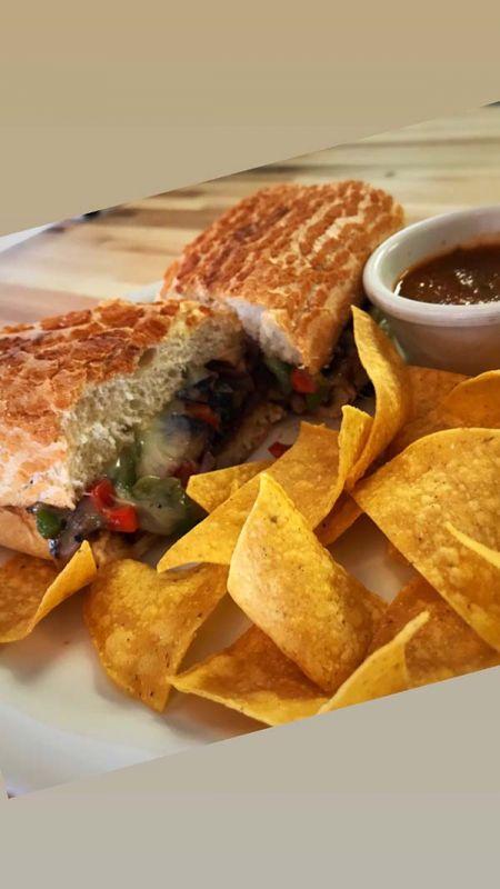 Fumo Cafe, Pizzeria & Bar Lake Tahoe, Portabello Mushroom Sando