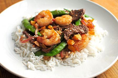 Emerald Bay Bar & Grill, Saturday: Ribeye Steak & Shrimp Dinner