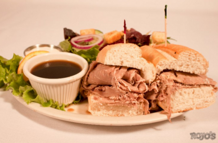 Rojo's Tavern, French Beef Dip Sandwich