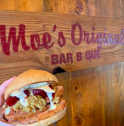 Moe's Original Bar B Que, Open for Curbside Pickup