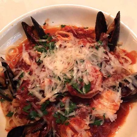 Primo's Italian Bistro, Seafood Fra Diavolo