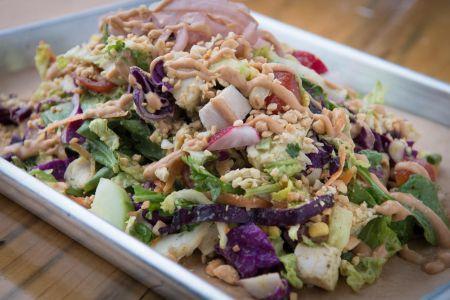 Alibi Ale Works, Roast Chicken Chop Salad