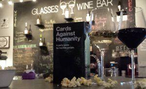 Glasses Wine Bar, Game Night!