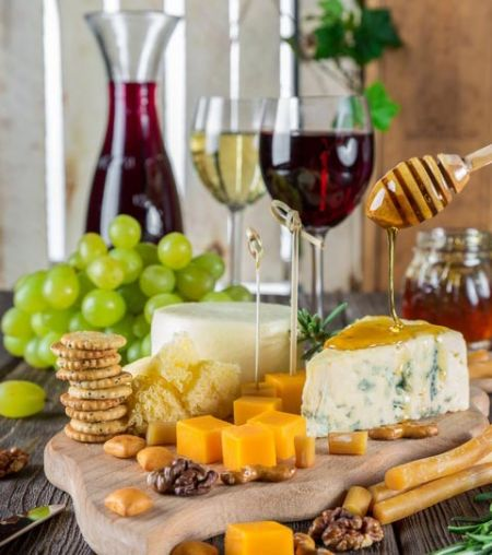 The Cork and More, Cheese & Wine Happy Hour
