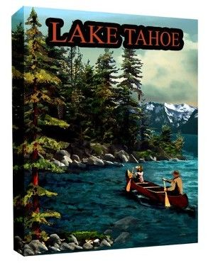 The Robin's Nest Lake Tahoe, Paul Bailey Vintage Tahoe Prints