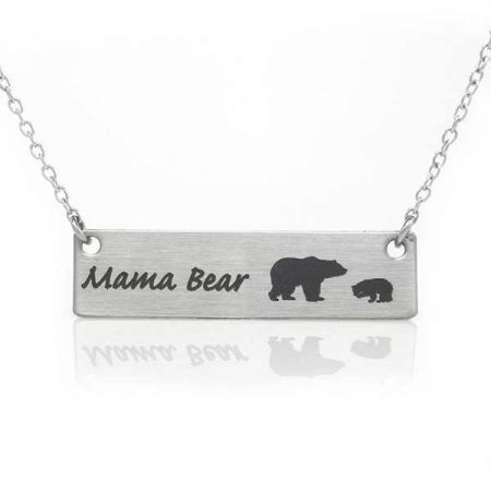 The Robin's Nest, Momma Bear Necklace
