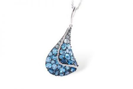 pendant jpjn bluestone product blue best jpearls prices in buy diamond stone india online