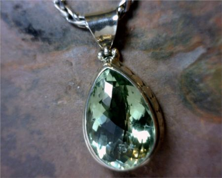 Green amethyst pendant bluestone jewelry wine lake tahoe shopping bluestone jewelry wine green amethyst pendant aloadofball Image collections