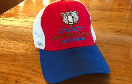 Welcome to Bear Beach Cafe, South Lake Tahoe, Bear Beach Trucker Hats