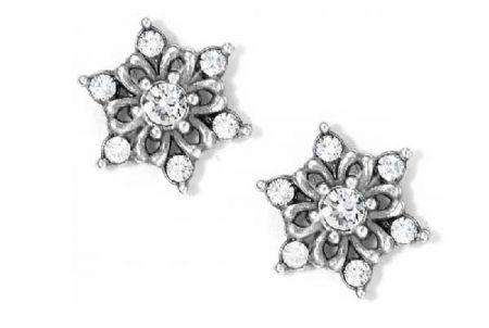 Sidestreet Boutique, Snowflake Earrings